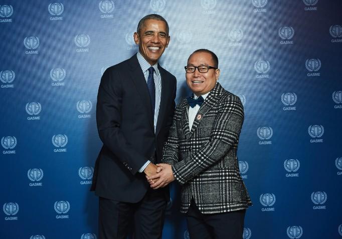 英语教育专家麦迪老师应邀出席奥巴马可持续发展峰会